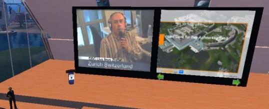 Kurs für die Zürcher Hochschule der Künste über Blending von virtuellen Welten und Multimedia
